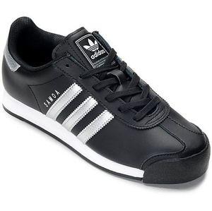 Adidas Originals Samoa Black/Silver Sneakers